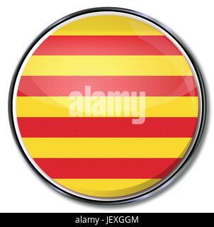 button catalonia - Stock Photo