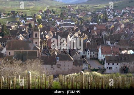 Riquewihr, Alsace, France - Stock Photo