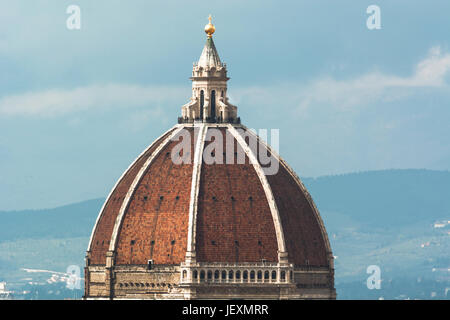 Brunelleschi Dome in Florence - Stock Photo