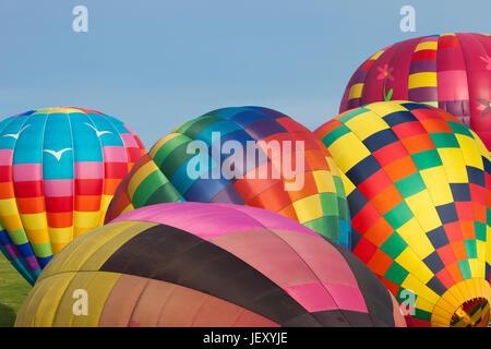 Chester County Ballon Festival, West Brandnywine, PA - Stock Photo