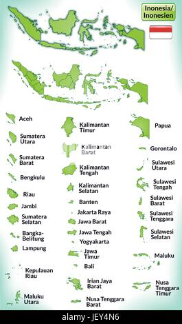 Indonesia card outline administration borders state atlas map indonesia card outline administration borders state atlas map of publicscrutiny Choice Image