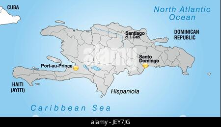 Overview haiti map atlas map of the world hispaniola stock card atlas map of the world map border card borders gumiabroncs Choice Image