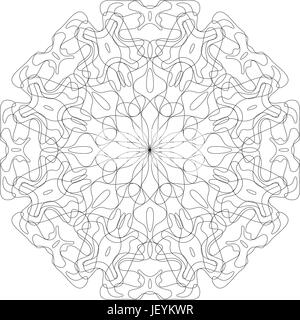 Abstract monochrome pattern - Stock Photo