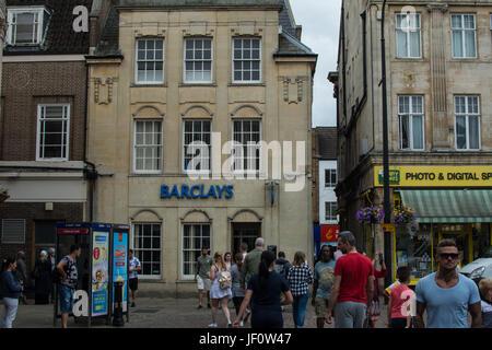 Barclays Bank Northampton England - Stock Photo