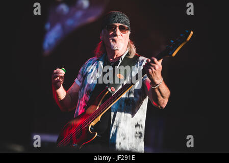 June 16, 2017: Deep Purple performing live at the Hellfest Festival 2017 in Clisson, near Nantes Photo: Alessandro - Stock Photo