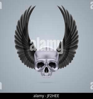 danger, culture, isolated, death, ride, emblem, face, human, human being, - Stock Photo