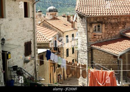 Old Town of Kotor, Montenegro - Stock Photo