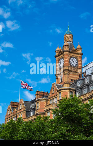 The Landmark London hotel on Marylebone road, London, England, U.K. - Stock Photo