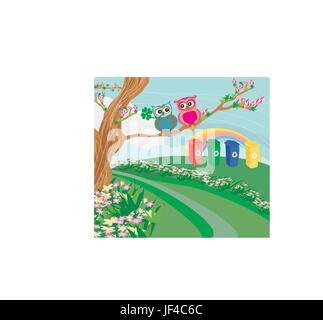 leaf, detail, environment, enviroment, sweet, art, tree, graphic, bird, fauna, - Stock Photo