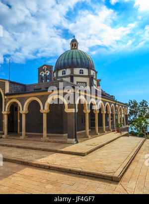 Basilica of Mount Beatitudes - Stock Photo