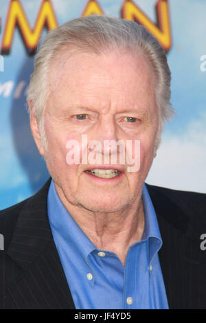Jon Voight  06/28/2017 The World Premiere of 'Spider-Man: Homecoming' held at the TCL Chinese Theatre in Los Angeles, - Stock Photo