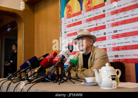 Moscow, Russia. 29th June, 2017. Chairman of the Russian Union of Cinematographers, the president of the Moscow - Stock Photo