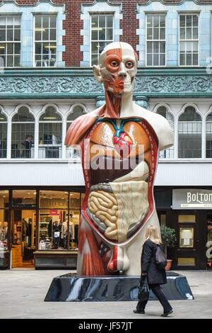 London, UK. 29th June, 2017.  'Temple' Damien Hirst by 2008. Sculpture in the City of London returns for the seventh - Stock Photo