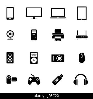 PC, computers, computer, electronics, hardware, technology, devices, set, - Stock Photo