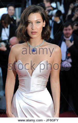 Bella Hadid cannes 20-05-2017 - Stock Photo