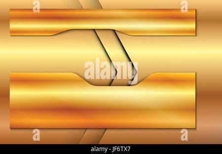 brass, surface, banner, darts, arrows, glossy, gradient, metallic, gold, metal, - Stock Photo