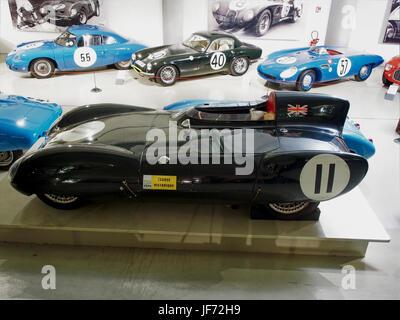 1956 Lotus XI Le Mans 4cyl 1ACT 1098cc 85hp 204kmh photo1 - Stock Photo