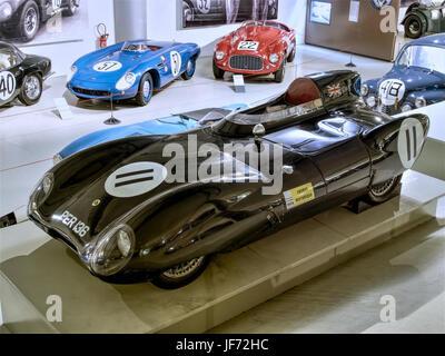 1956 Lotus XI Le Mans 4cyl 1ACT 1098cc 85hp 204kmh photo2 - Stock Photo