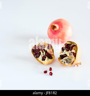 Juicy pomegranate fruits - Stock Photo
