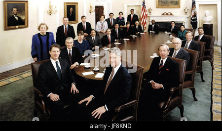Superb ... Official Photo Of United States President Bill Clintonu0027s Cabinet Taken  In The Cabinet Room Of The