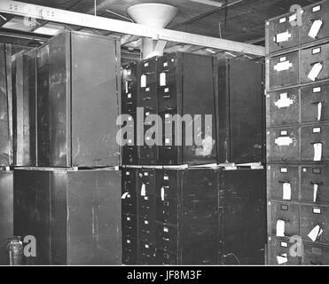 Photograph of Federal Records Center, Alexandria, Virginia, Storage Area 34587860214 o - Stock Photo