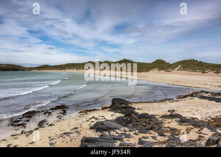 Balnakeil Bay, near Durness - Stock Photo