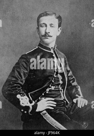 NAPOLEON, Prince Imperial (1856-1879) son of Napoleon II and Eugenie. - Stock Photo