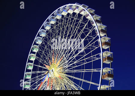 Ferris wheel in Nice - Stock Photo
