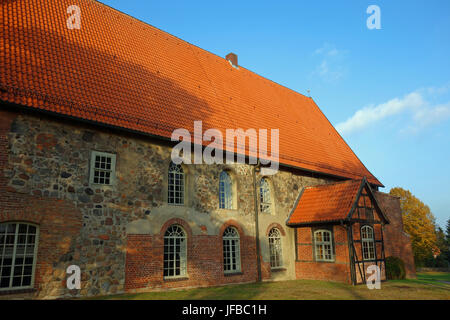 Lutheran St. John's Church in Salzhausen - Stock Photo