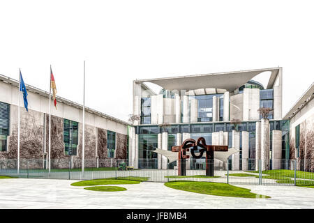German Federal Chancellery - Stock Photo