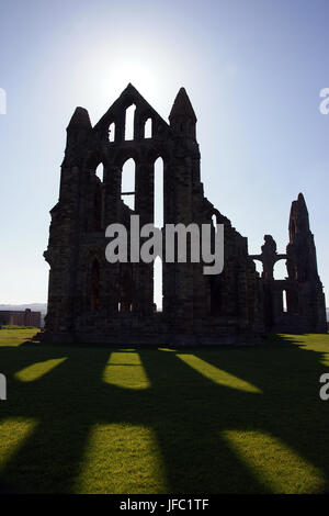 Whitby Abbey, North yorkshire - Stock Photo