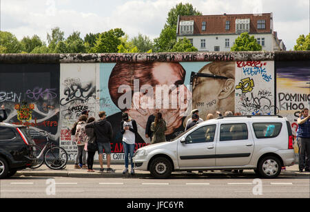 Eastside Gallery Berlin - Stock Photo