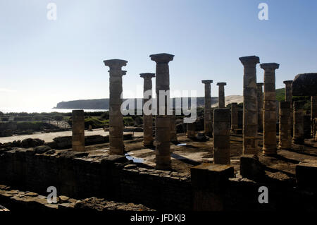 Baelo Claudia ancient Roman town located in Bolonia, Cadiz, Andalusia, Spain - Stock Photo