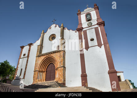 Silves cathedral - Silves, Algarve, Portugal - Stock Photo