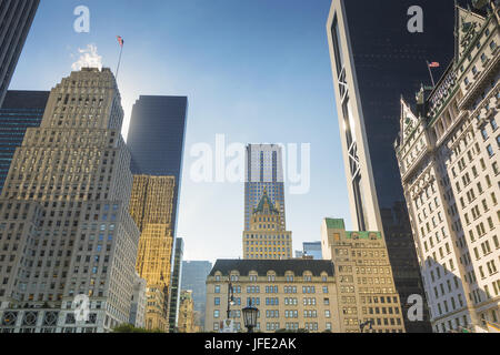 Grand Army Plaza in New York - Stock Photo