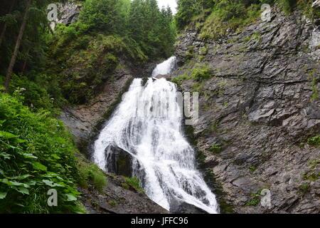 Transilvania Waterfall - Stock Photo