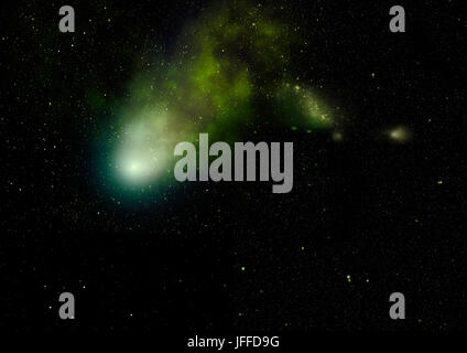 Small part of an infinite star field - Stock Photo