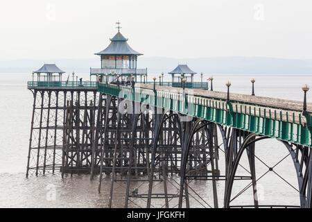 England, Somerset, Clevedon, Clevedon Pier