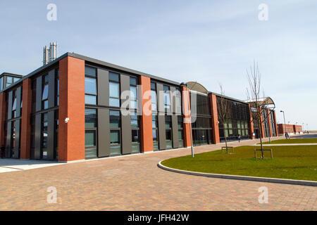 Swansea Bay Campus - Engineering Building - Stock Photo