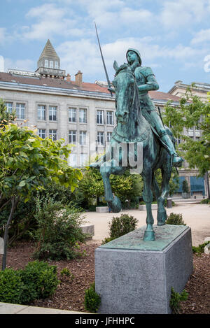 Equestrian Statue Of Joan Of Arc Place Jeanne D Arc