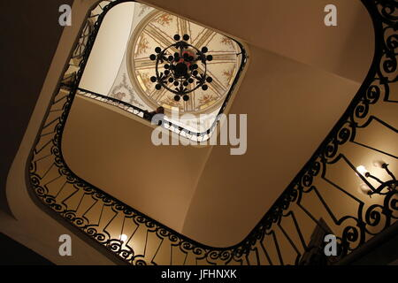 Staircase eye interior architecture - Stock Photo
