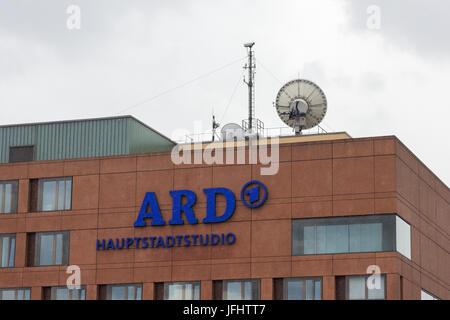 The ARD Hauptstadtstudio in Berlin - Stock Photo