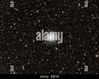 Messier 13 the Great Globular Cluster in Hercules - Stock Photo