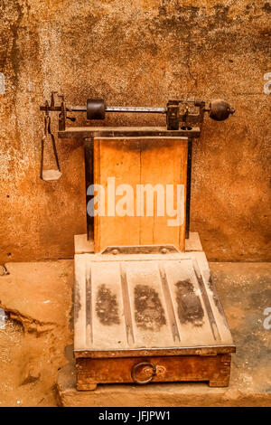 Old fashioned scales - Stock Photo