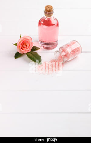 Spa setting and health care items - Stock Photo