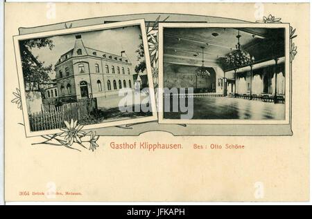 03054-Klipphausen-1903-Gasthof Klipphausen-Brück & Sohn Kunstverlag - Stock Photo