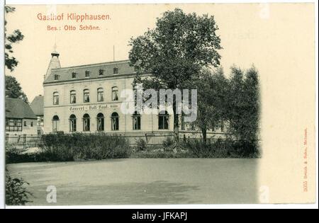 03055-Klipphausen-1903-Gasthof Klipphausen-Brück & Sohn Kunstverlag - Stock Photo