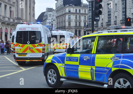 London, UK. 01st July, 2017. Not One Day More - Tories Out Demonstration, London, UK. Protesters March from Oxford - Stock Photo