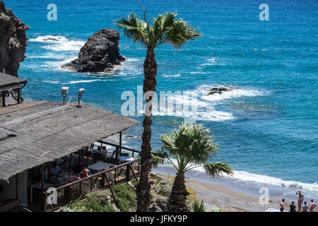 La Cala  Restaurant at La Manga Club in Murcia Spain - Stock Photo