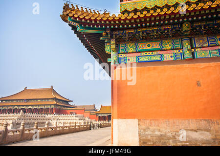 Forbidden City in Beijing North China - Stock Photo